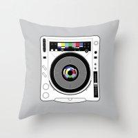 1 kHz #12 Throw Pillow