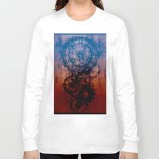 Steampunk clock Long Sleeve T-shirt