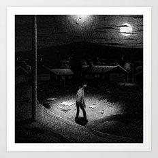 Drawlloween 2014: Zombie Art Print