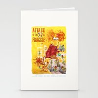 Attack of the 22 Inch Fraggle Stationery Cards