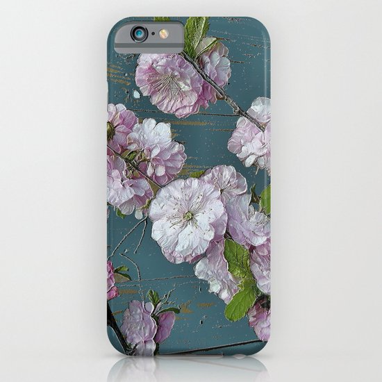 Vintage Pink Blossoms iPhone & iPod Case