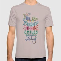 Be The Reason Someone Sm… Mens Fitted Tee Cinder SMALL