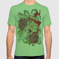 You Dont Bring Me Flowers Anymore Mens Fitted Tee Grass SMALL