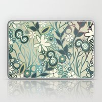 Detailed Square Of Green… Laptop & iPad Skin