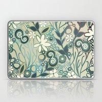 Detailed Square Of Green… Laptop & iPad Skin