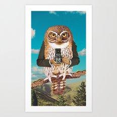 Just say cheese ! Art Print