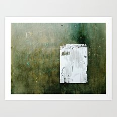 A Hidden Message... Art Print