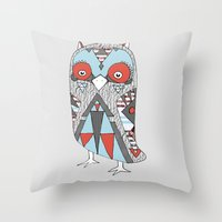 Urban Owlfitters Throw Pillow
