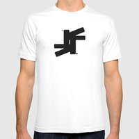 TSF Logo Mens Fitted Tee White SMALL