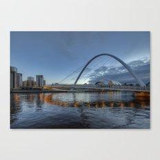 Millenium Bridge Newcastle Canvas Print
