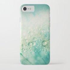 Seafoam Dandy Drops iPhone 7 Slim Case