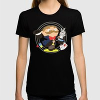 Magician Womens Fitted Tee Black SMALL