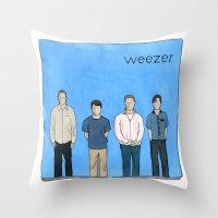 Weezer Throw Pillow