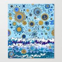 Sun & Sea Canvas Print