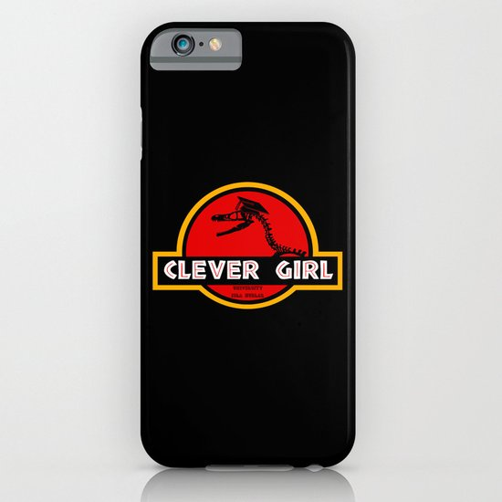 Clever Girl iPhone & iPod Case