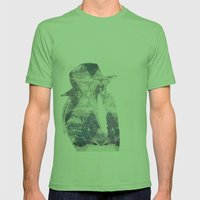 Taro Mens Fitted Tee Grass SMALL