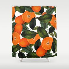 The Forbidden Orange #society6 #decor #buyart Shower Curtain