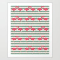 Pink Kisses Art Print