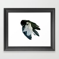 MOCKING BIRD SERIES #2 Framed Art Print