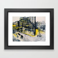 Flatiron Mixed Media Framed Art Print