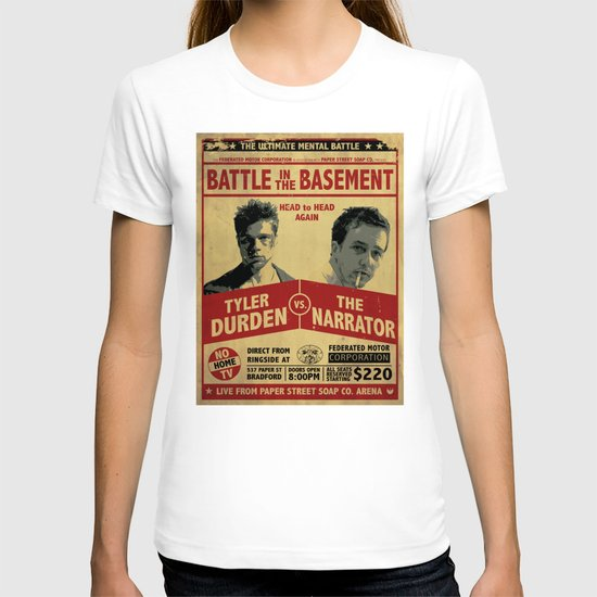 Fight Club Fight Poster T-shirt