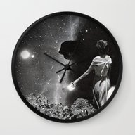 Wall Clock featuring CREATION by Beth Hoeckel Collage…