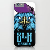 iPhone & iPod Case featuring SLH Hawk by Steven Luros Holliday