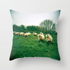 An Audience Throw Pillow