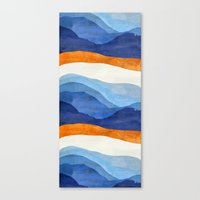 Mountains in the Morning Canvas Print