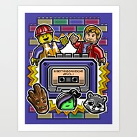Everything Is Awesome Mi… Art Print