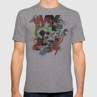 My Oh My Pt. II Mens Fitted Tee Athletic Grey SMALL