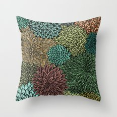 Ink  Pattern No.4 Throw Pillow
