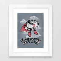Supernes Framed Art Print