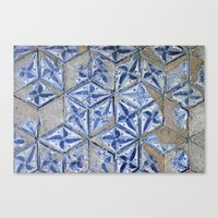 Tiling With Pattern Canvas Print