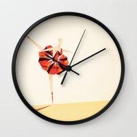 The Ballance ( Girl on fire) Wall Clock