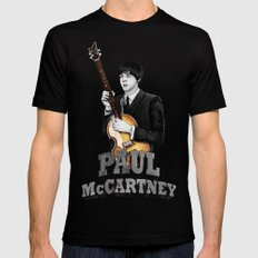 Macca Black SMALL Mens Fitted Tee