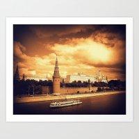 Moscow Kremlin Art Print