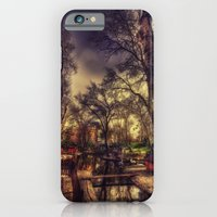 iPhone & iPod Case featuring The Swanheart by ISIK MATER