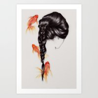 Hair Sequel III Art Print