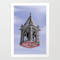 Fleshy Architecture  Art Print