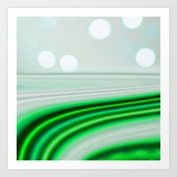 The Emerald Highway Art Print