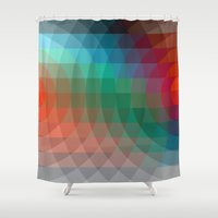 Optical Projection Shower Curtain