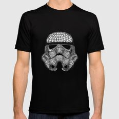 Trooper Star Circle Wars SMALL Mens Fitted Tee Black
