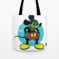 unDEADmouse Tote Bag