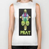 PRAY Biker Tank