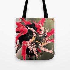 fleur les mot Tote Bag