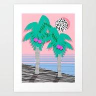 Most Definately - Palm T… Art Print