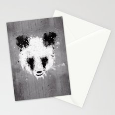 panda paint Stationery Cards