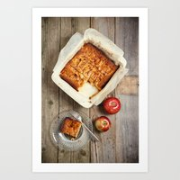 Apple Dessert Art Print