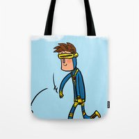 Cyclops Loves Baseball Tote Bag